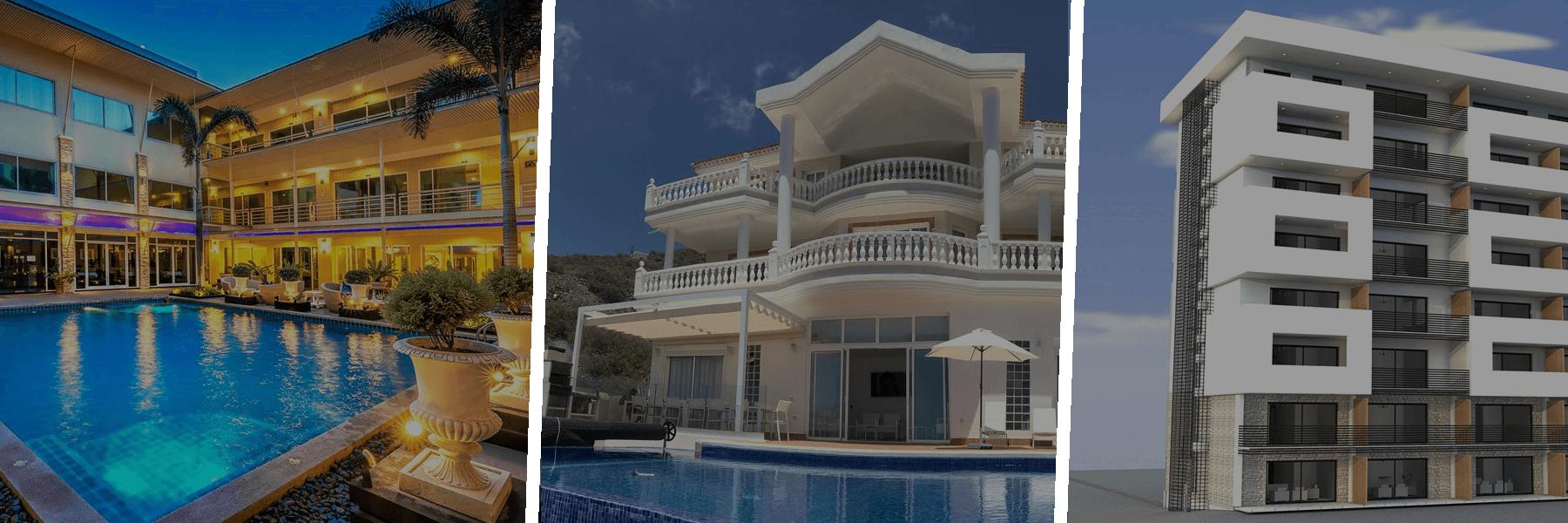 Hôtel-Villa-Immeuble-Marrakech-Fès