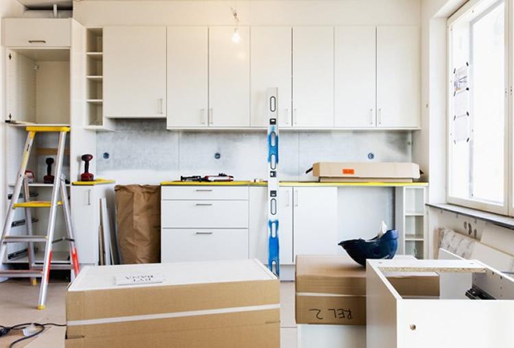 Image d'une cuisine en rénovation à Fès